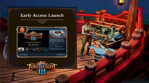 A Torchlight III fejlesztői a saját játékukat streamelik