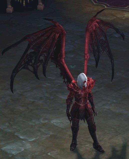Necro piros szárnyának megszerzése        TRAG'OUL'S  WINGS