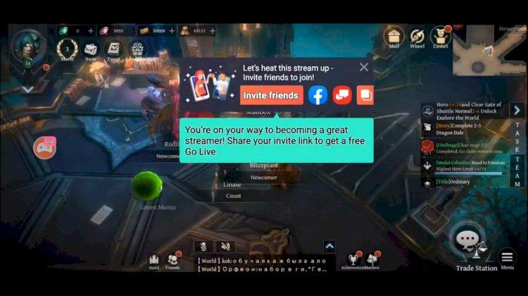 Gameplay streamelése Androidos telefonról