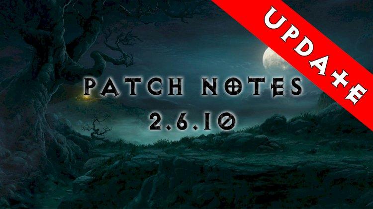 Diablo III PTR Patch Notes UPDATE 2.6.10 - MAGYARUL!