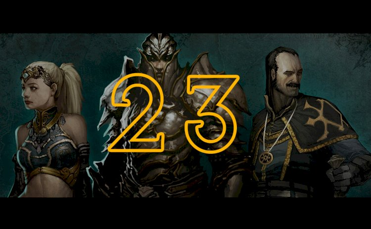 Stream! Diablo III Season 23 START
